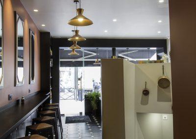 STS SERVICES Aménagement d'un restaurant